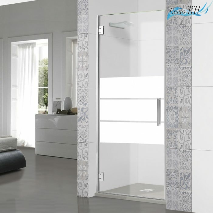 mampara-de-ducha-frontal-puerta-abatible-cristal-decorado-125-rh1410